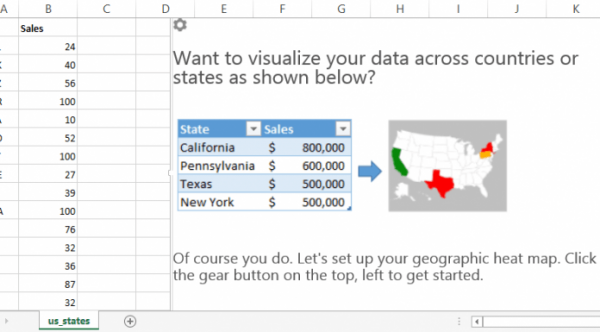 Excel Map Templates - Free Data visualization and VBA Training