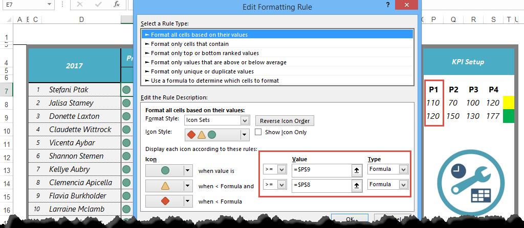 How create KPI Dashboard in Excel? - Dashboard Tutorial